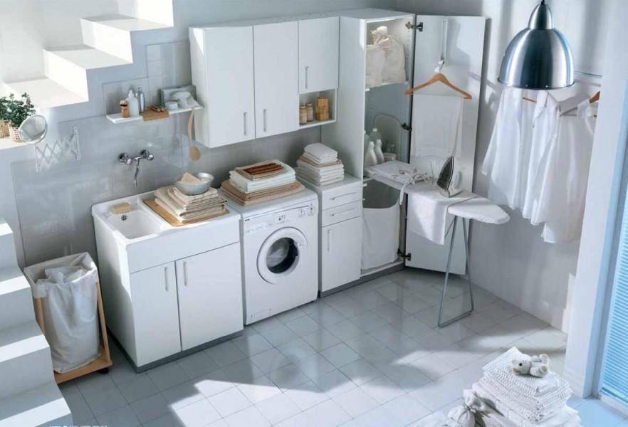 Mobili lavanderia e scarpiere arredobagno gianola idrotermosanitari - Accessori lavanderia casa ...